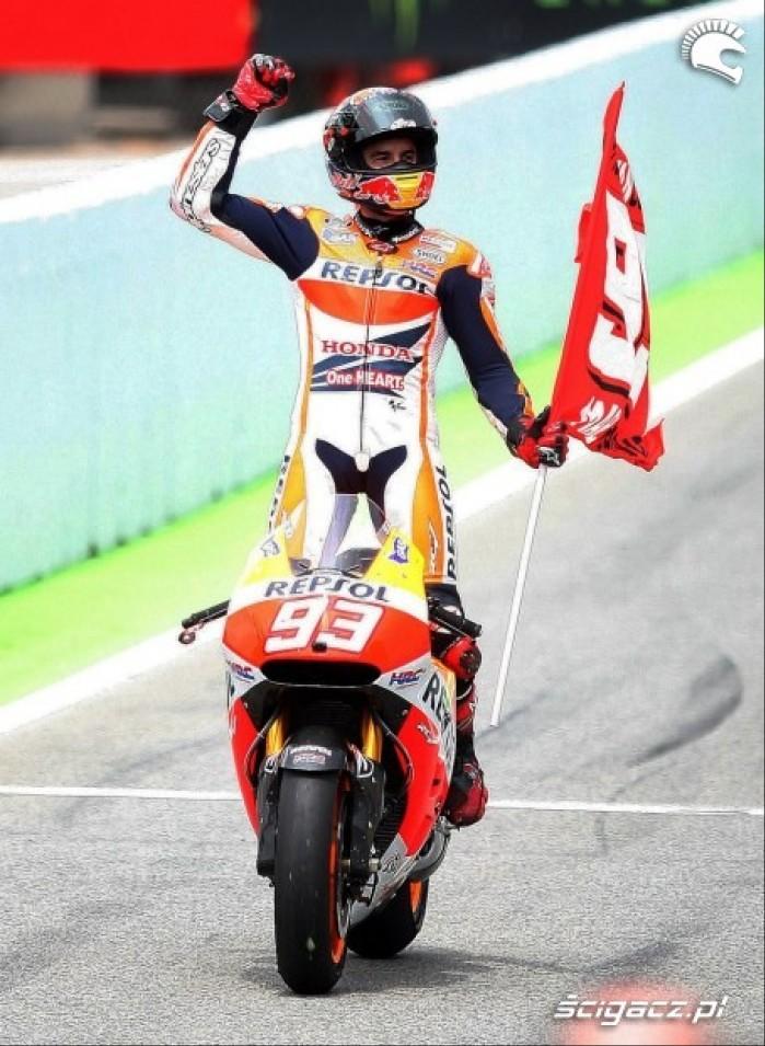 Flaga MotoGP Catalunya 2014