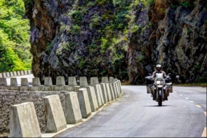 Ride Asia trasa do Garmish