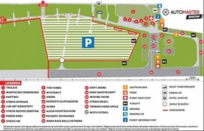automaster show mapa