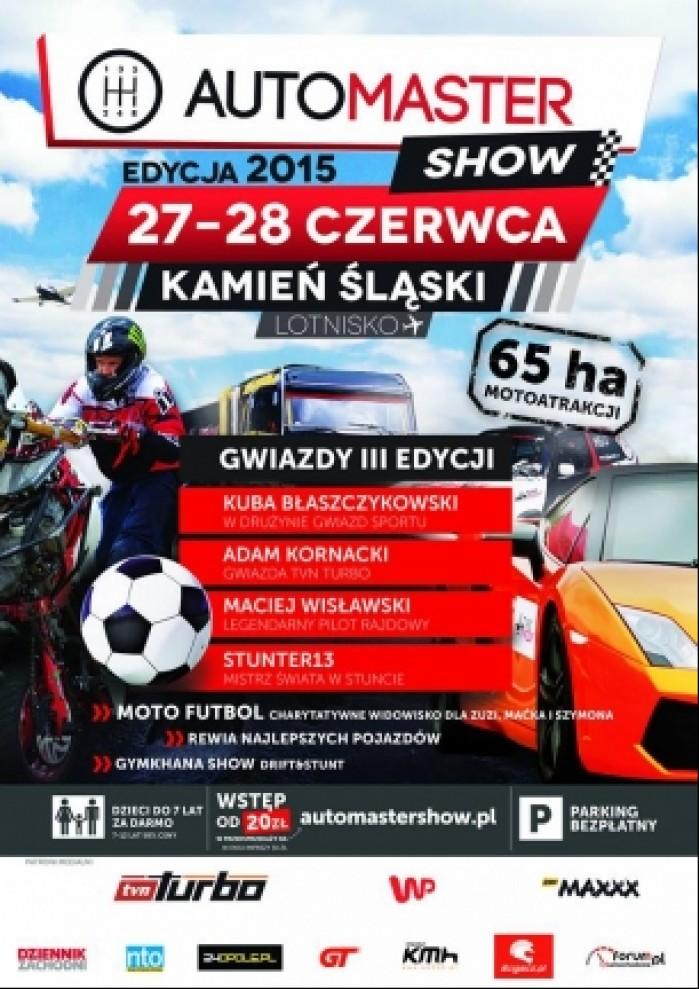 plakat automastershow 2015