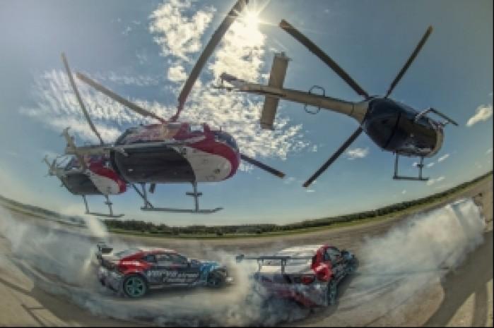 Red Bull Heli Drifting