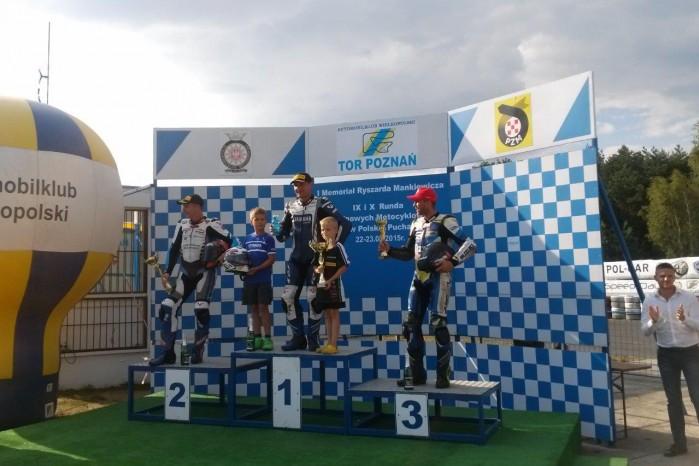 Podium Superbike Wy cigowe Motocyklowe Mistrzostwa Polski