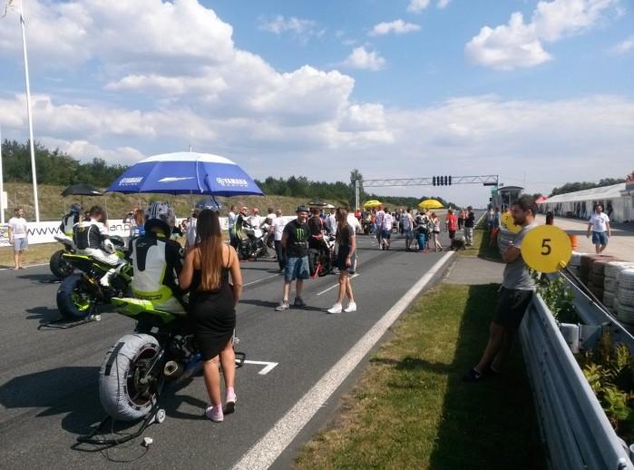 Pole startowe Wy cigowe Motocyklowe Mistrzostwa Polski