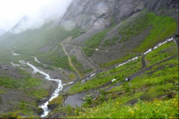 Norwegia Trollstigen