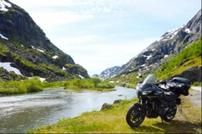 Norwegia droga 55 za Fossbergom
