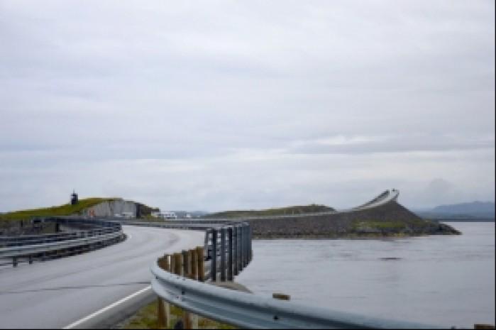 Norwegia most na drodze Atlantyckiej