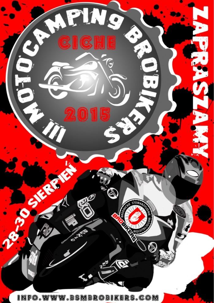Plakat III Motocamping Brobikers