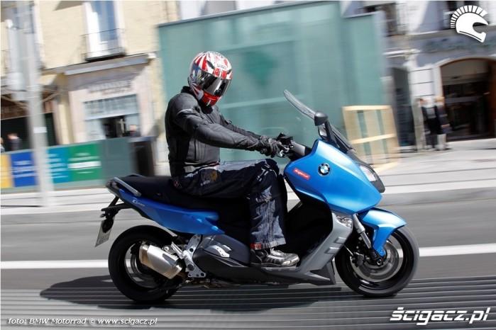Na miescie BMW C600 Sport 2012