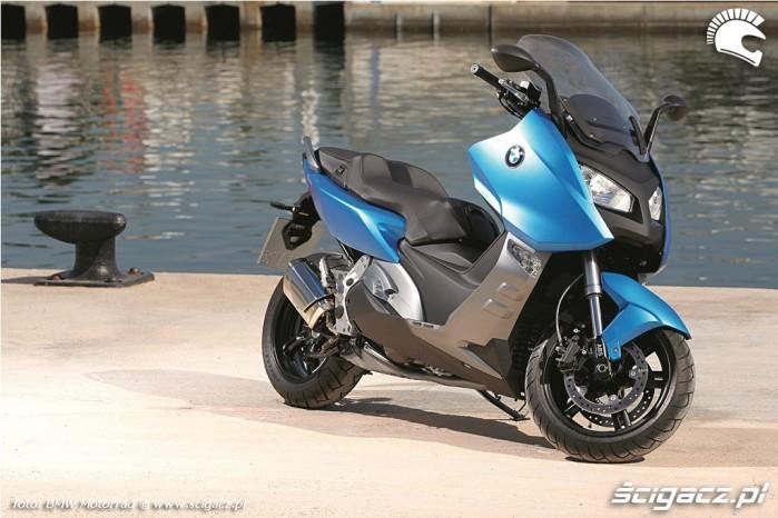 w porcie Maksiskuter BMW C600 Sport 2012