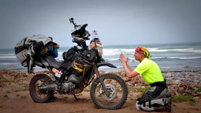 Nad brzegiem morza Moroccooff 2015