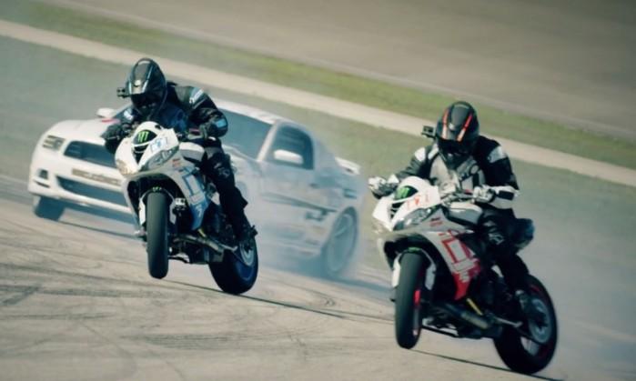 Motocyklowy drift vs samochodowy drift
