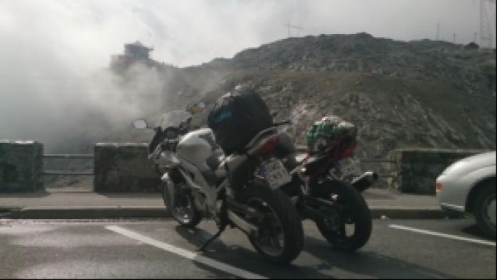 17 zamglone Stelvio Pass