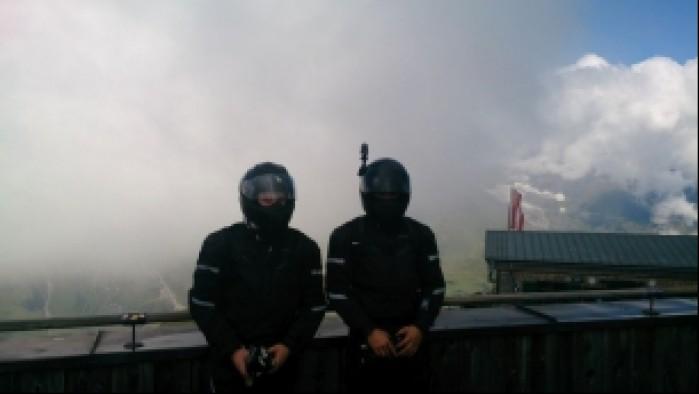 8 troche pochmurno na Edelweisspitze