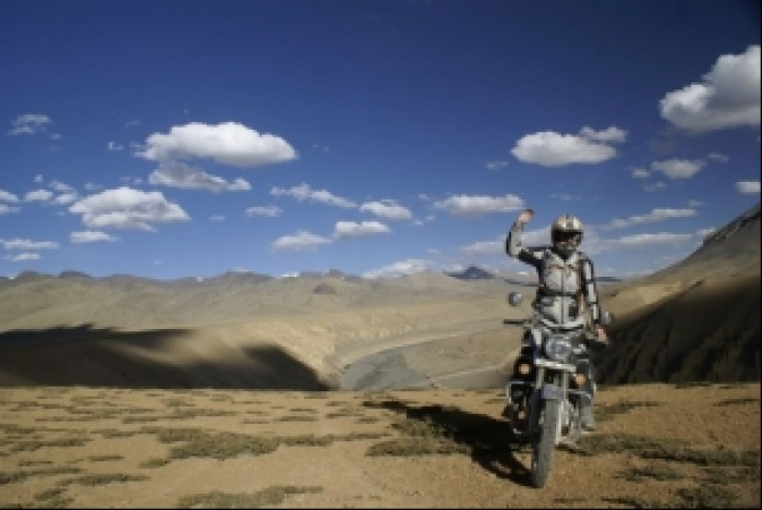 Ola w Himalajach