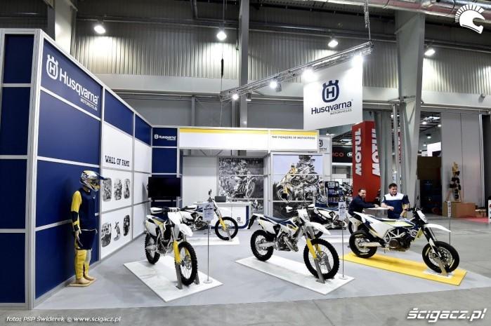 Ogolnopolska Wystawa Motocykli i Skuterow 2015 Husqvarna