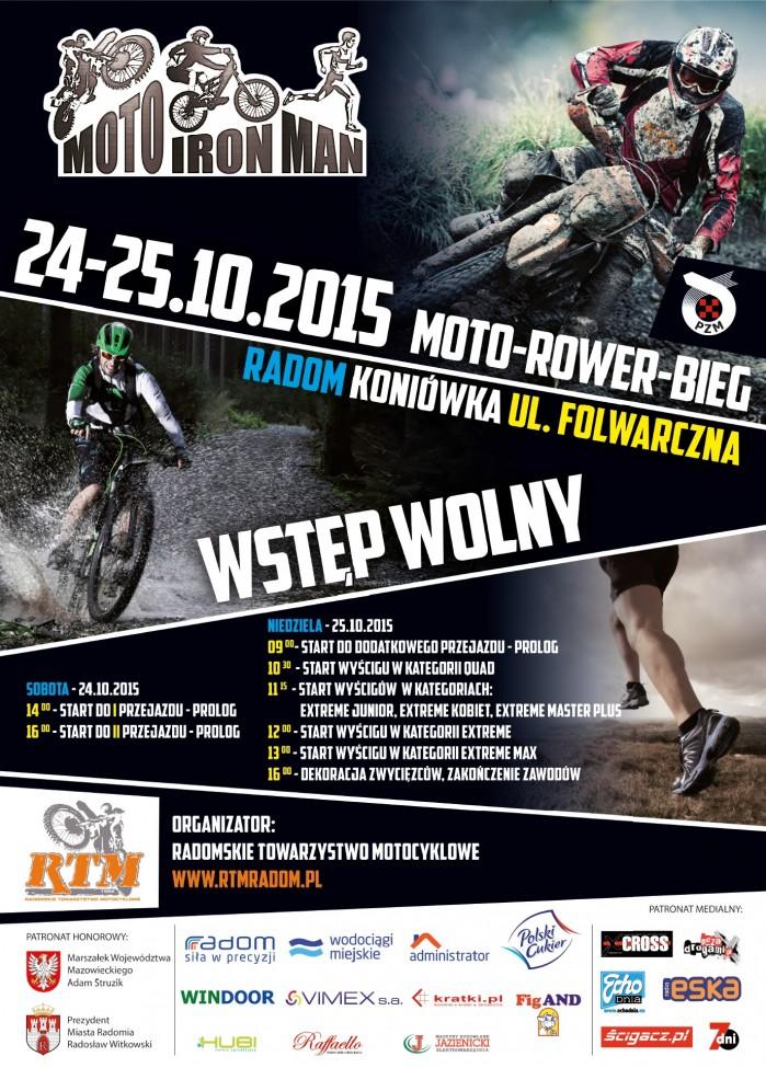 motoironman 2015 plakat