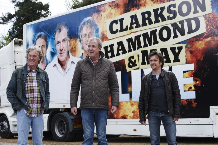 Clarkson Hammond i May gotowi do trasy
