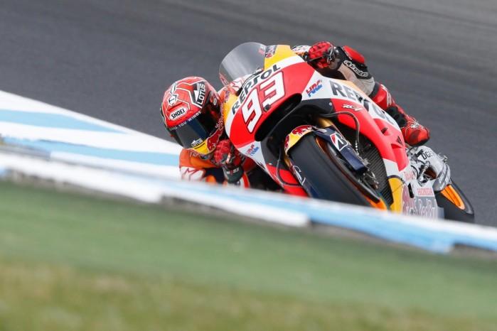 Marc Marquez MotoGP Australia 2015
