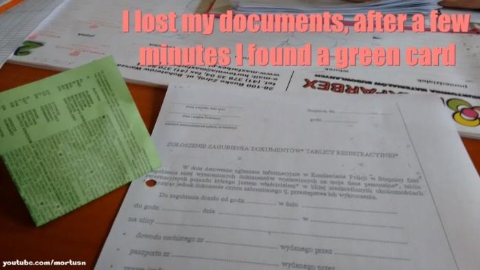 utrata dokumentow