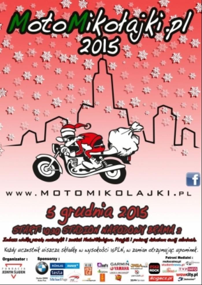 motomikolajki warszawa 2015 plakat