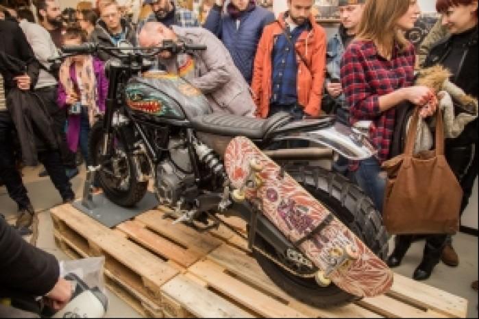Ducati Scrambler Iron Lungs ogledziny