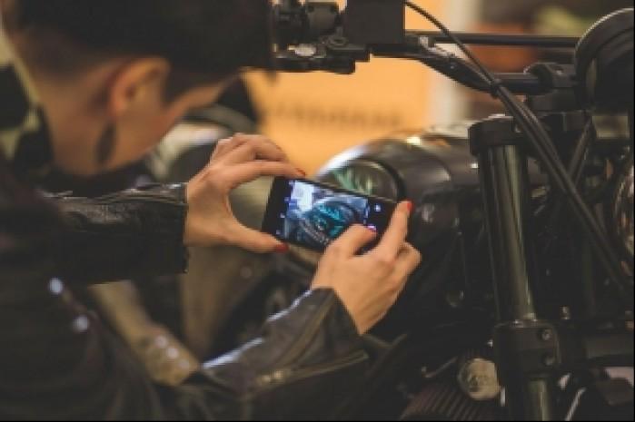 Ducati Scrambler Iron Lungs ogledziny widzow