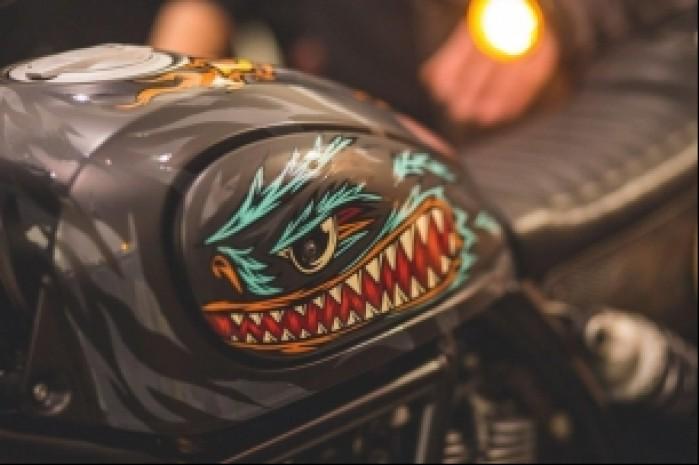 Ducati Scrambler Iron Lungs wspolczesna sztuka