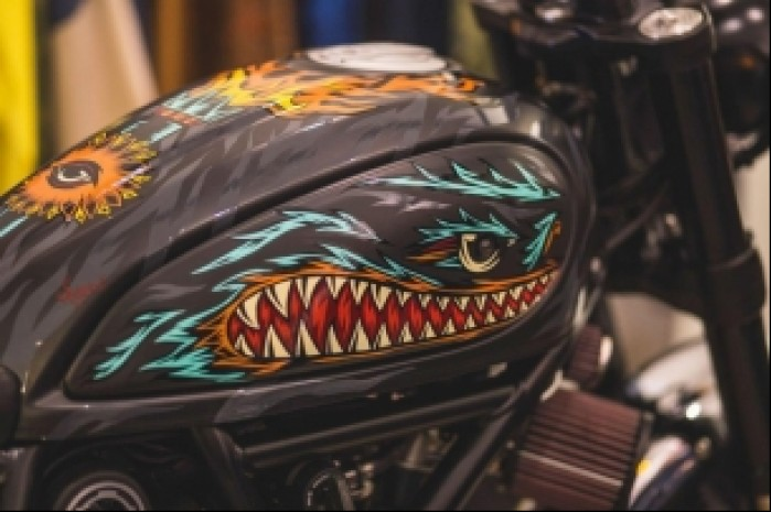 Ducati Scrambler Iron Lungs zbiornik Swanskiego