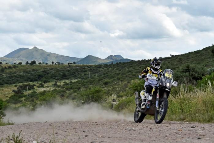 quinta Husqvarna Dakar 2016