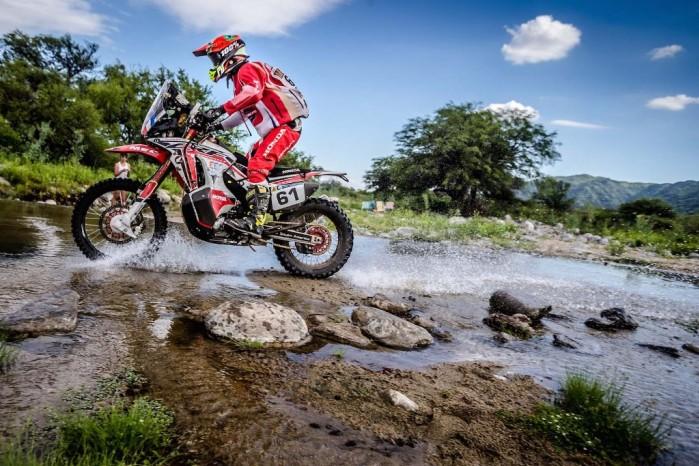 2016 Dakar Rally Stage 13 HRC