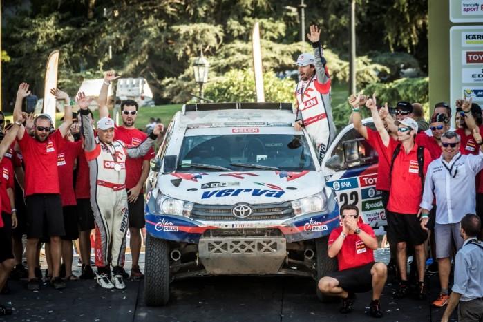 ORLENTeam Etap13 Marek Dabrowski Dakar 2016