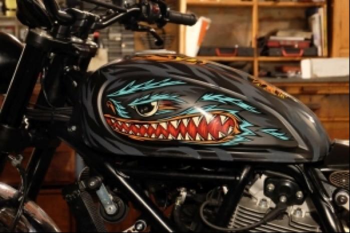 Bak Swanski Ducati Scrambler Custom Rumble