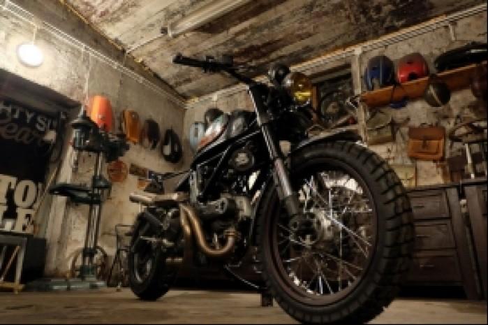 gotowy Ducati Scrambler Custom Rumble