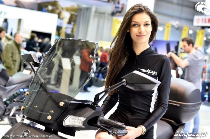Modelka Zipp Ogolnopolska Wystawa Motocykli i Skuterow 2015