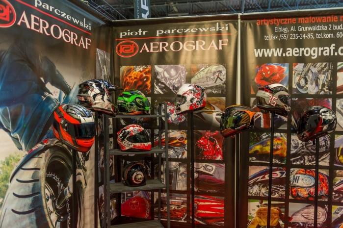 Aerograf wystawa motocykli Moto Expo 2016