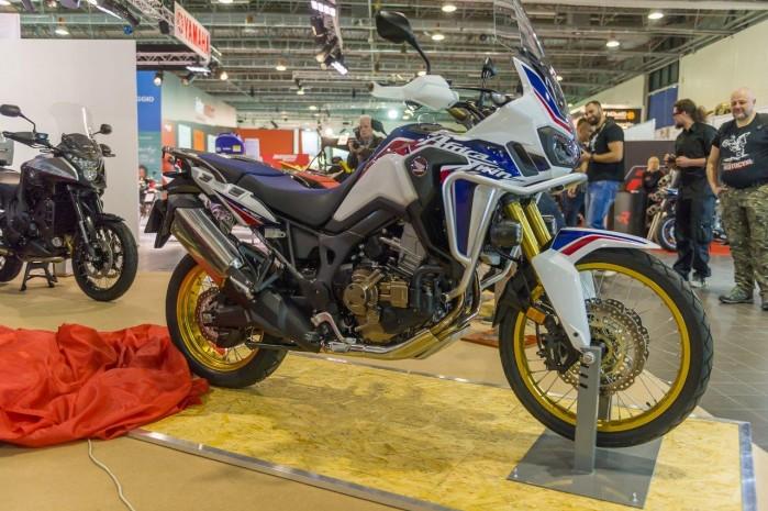 Africa Twin wystawa motocykli Moto Expo 2016