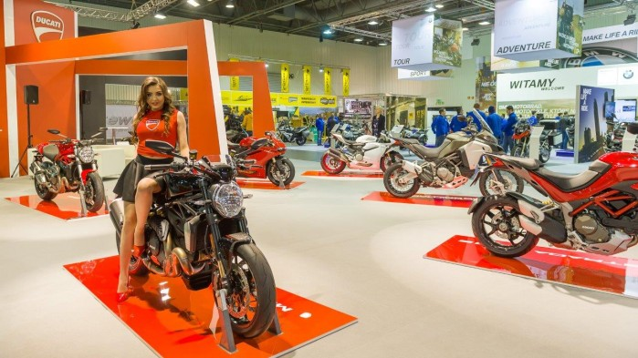 Ducati wystawa motocykli Moto Expo 2016