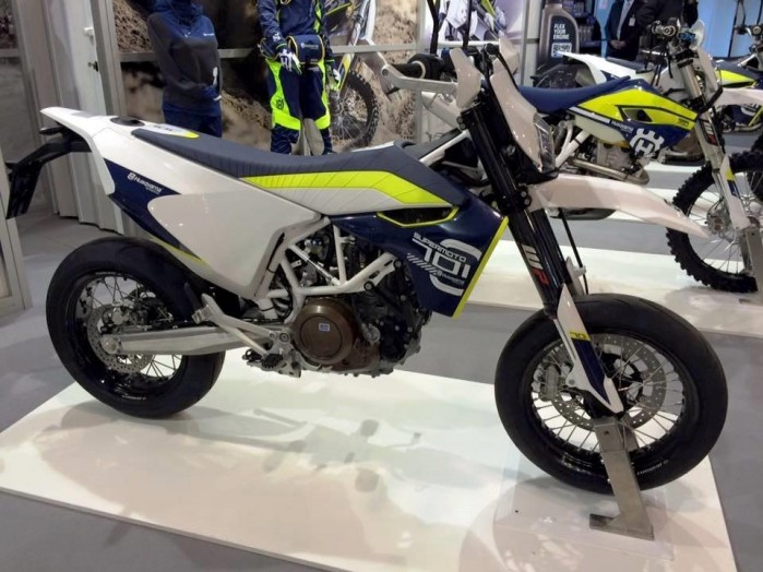 Husqvarna wystawa motocykli Moto Expo 2016