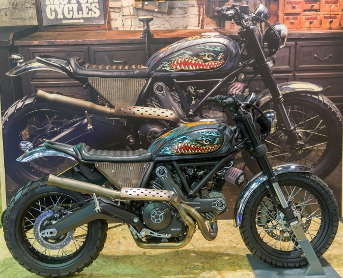 Iron Lungs wystawa motocykli Moto Expo 2016