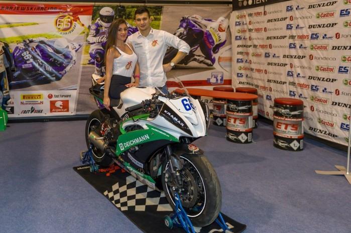 Przemek Krajewski wystawa motocykli Moto Expo 2016