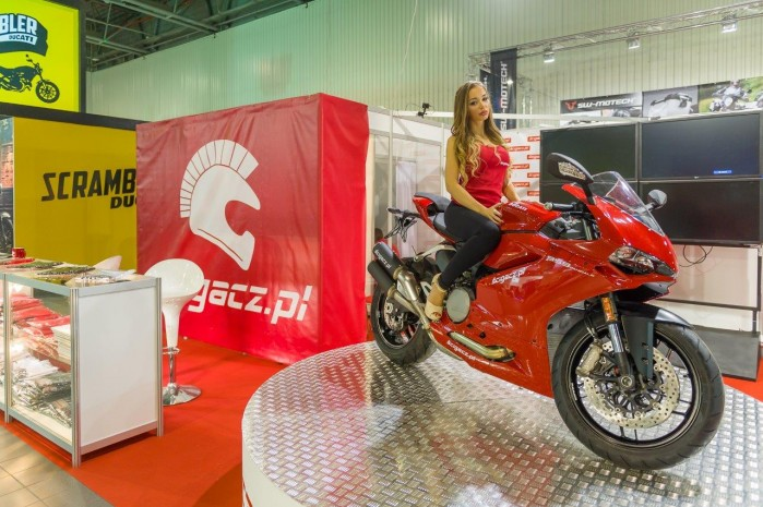 Scigacz wystawa motocykli Moto Expo 2016