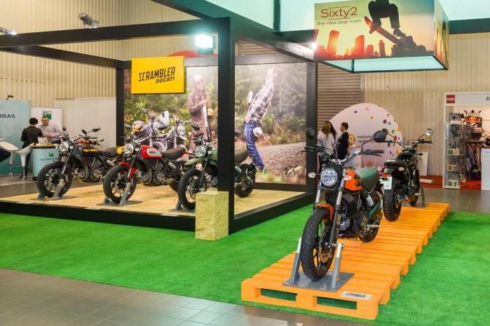 Scramblery wystawa motocykli Moto Expo 2016