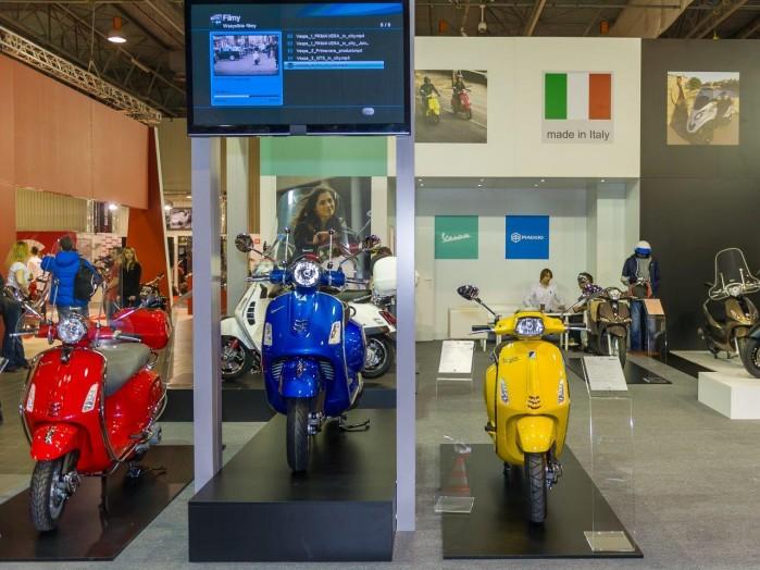 Skutery wystawa motocykli Moto Expo 2016