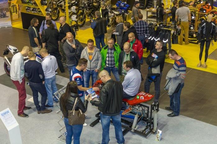 wystawa motocykli Moto Expo 2016 Superbike school