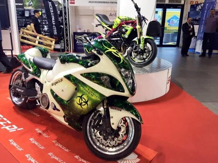 wystawa motocykli Moto Expo 2016 Toxic
