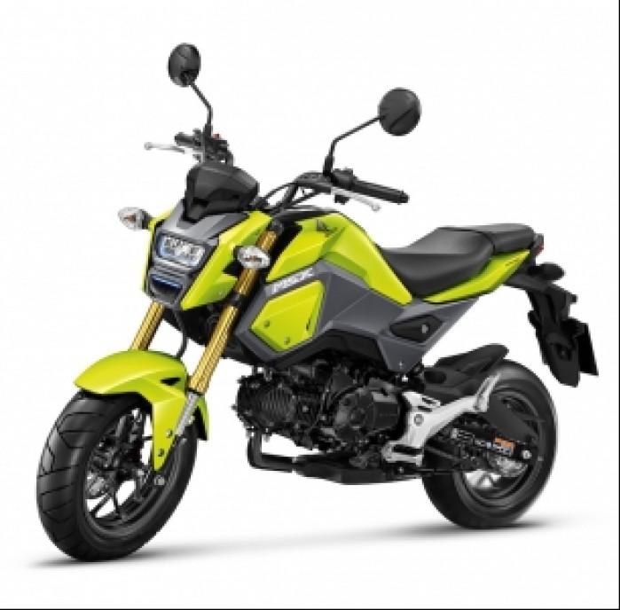 honda msx125 2016 yellow