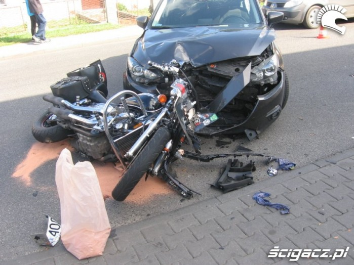 Wypadki motocyklowe 2016 Shadow