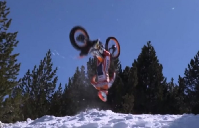 Toni Bou backflip