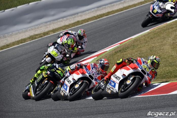 Team Ducati motogp 2016 barcellona