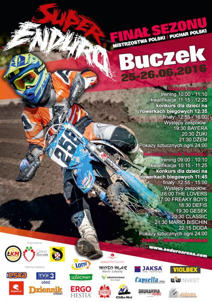 plakat superenduro buczek 2016